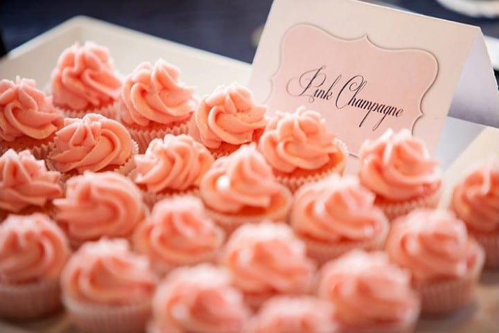 Peach Mini Cupcakes