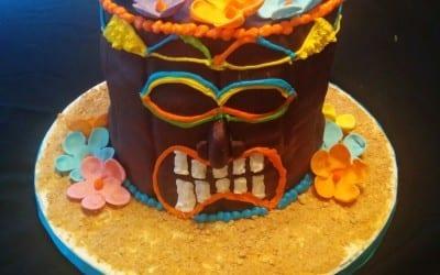 Tiki Man Cake